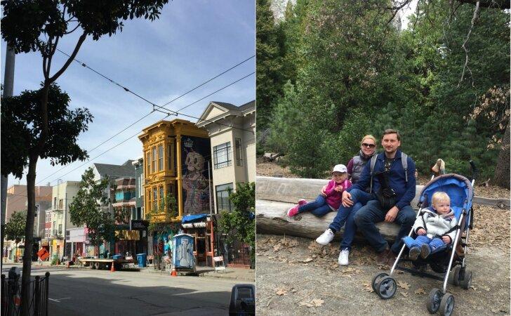 Laimingi žmonės keliauja: į Ameriką su mažais vaikais