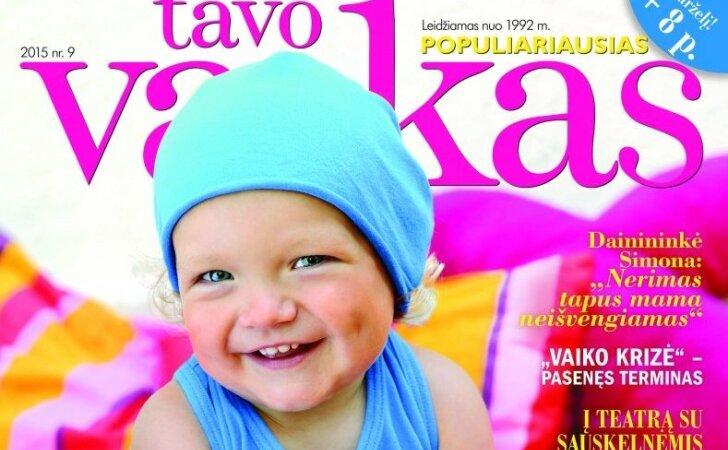 Sveikiname TAVO VAIKO žurnalo prenumeratos laimėtojus
