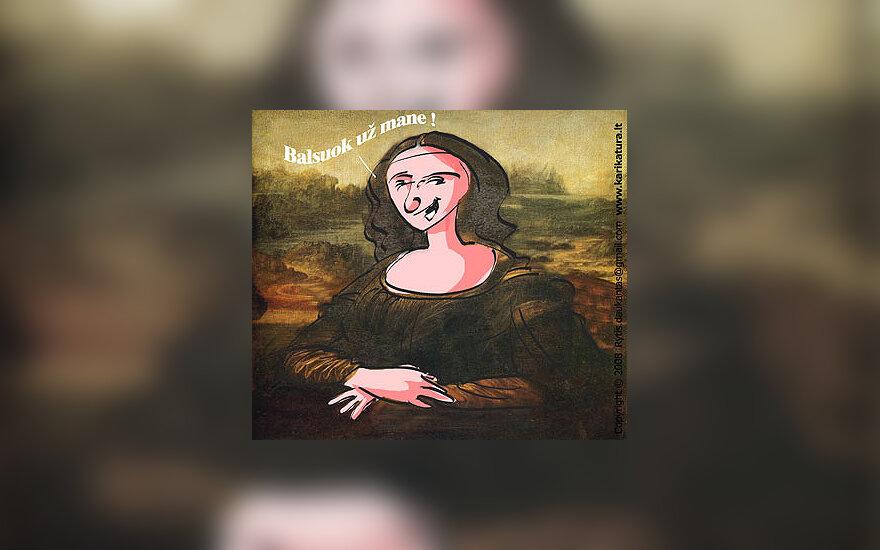 Politikas-Mona Lisa