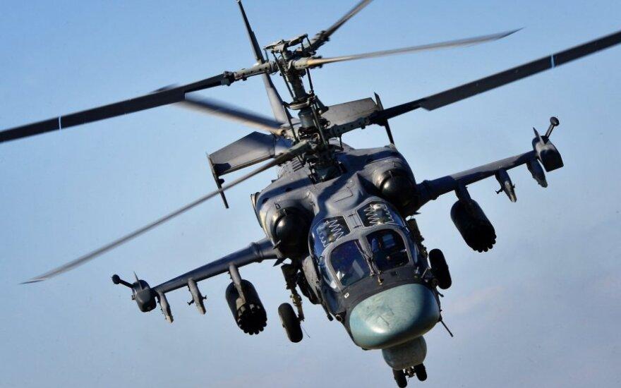 Sraigtasparnis KA-52