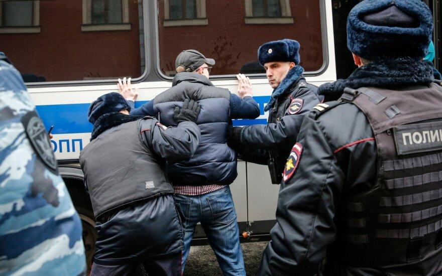Количество задержанных в Москве превысило 250 человек