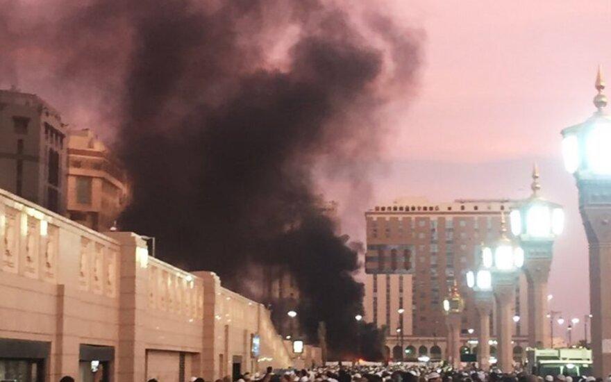 Взрыв у мечети Пророка в Медине: как минимум четверо погибших