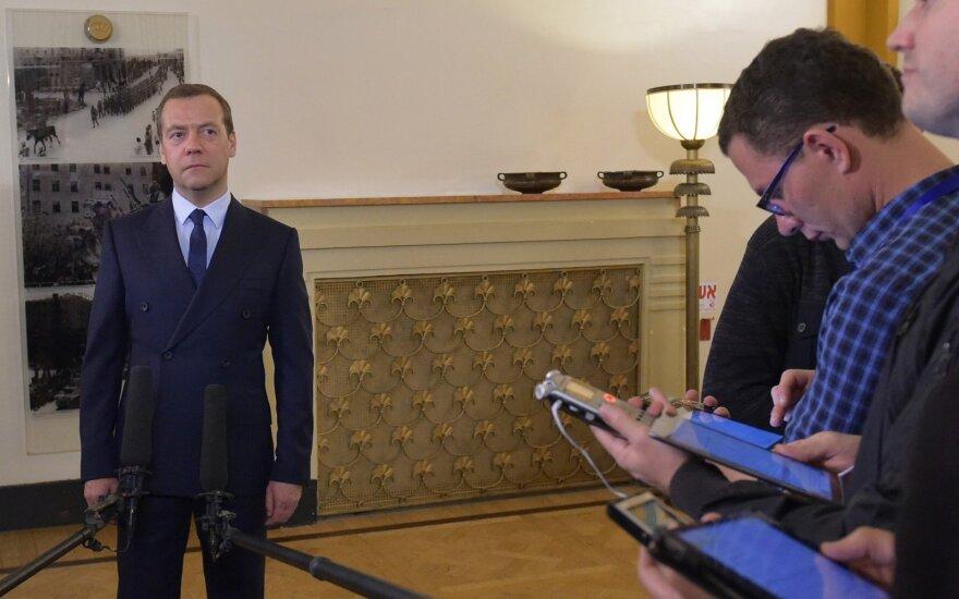 Dmitrijus Medvedevas Izraelyje