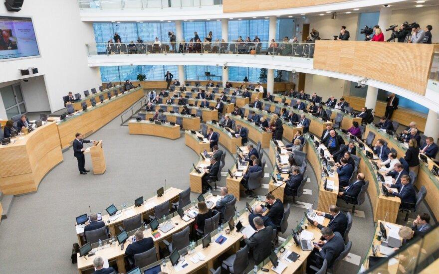 """Литовские """"крестьяне"""" инициируют референдум о сокращении числа членов Сейма Литвы"""