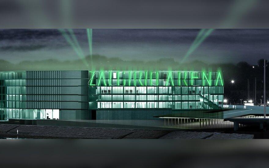 Žalgirio arena. E.Miliūno studijos vizualizaciją