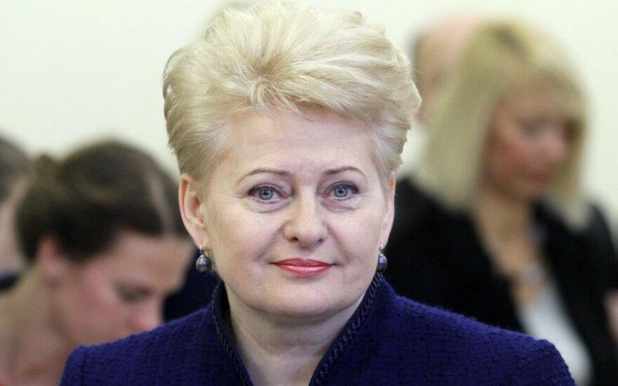 Prezydent Dalia Grybauskaitė z prezydentem Grecji omówi przekazanie prezydencji w UE