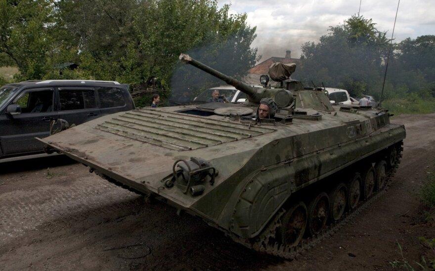 Киев говорит об усилении боев на востоке Украины