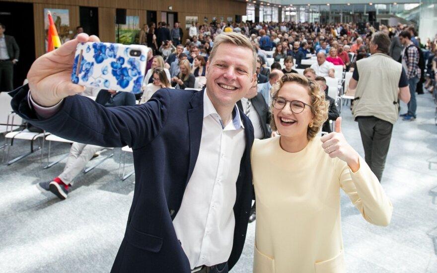 ФОТО: в Вильнюсе учредили новую либеральную Партию свободы