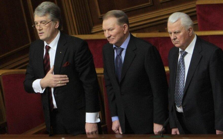 Президенты Кравчук, Кучма и Ющенко: Россия вмешивается в политику Крыма