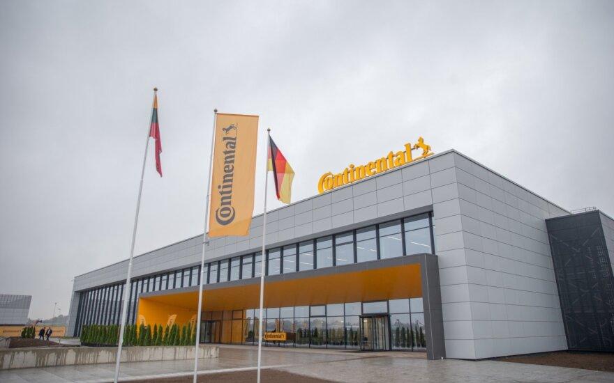 К производству в Каунасском районе приступило новое предприятие Continental
