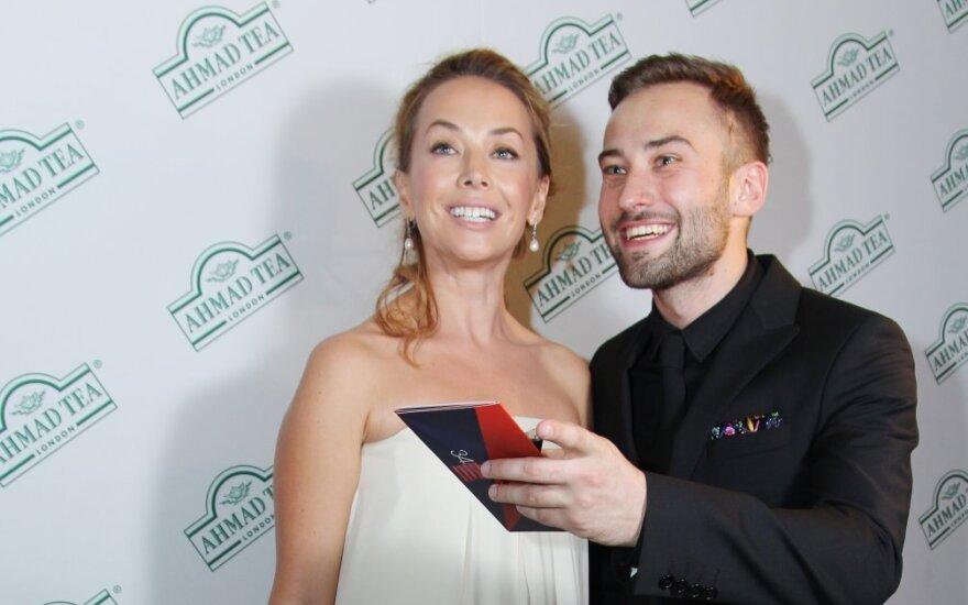 Žana Friskė ir Dmitrijus Šepeliovas