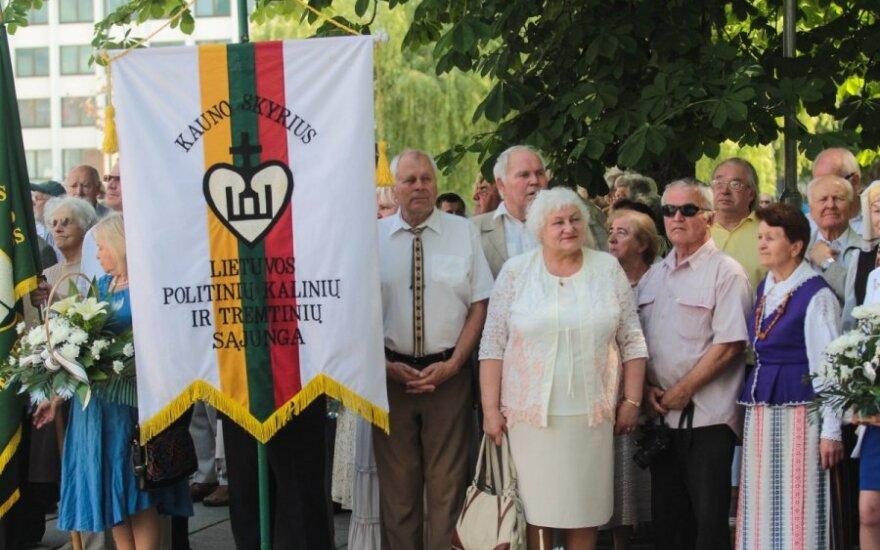 Kaune - iškilmingas Vyčio ordino vėliavos pakėlimas