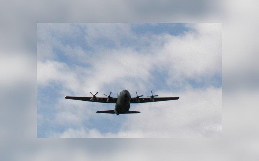 В Португалии разбился военно-транспортный самолет C-130