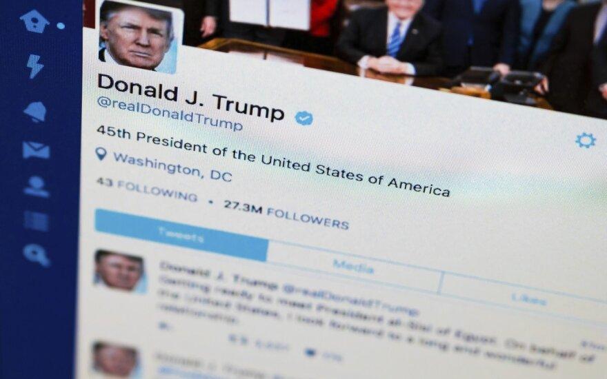 Donaldas Trumpas, Twitter
