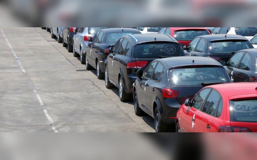 Automobilių turgus, nauji automobiliai