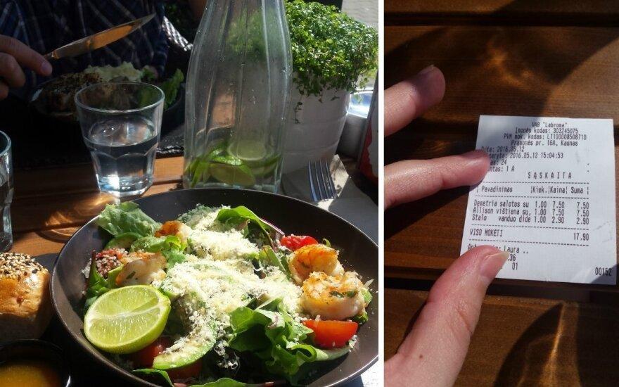 Посетительница кафе не поверила своим глазам, увидев цену на воду