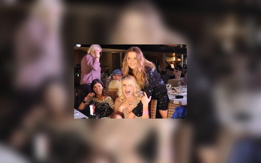Лобода и Могилевская оторвались на вечеринке у Пугачевой