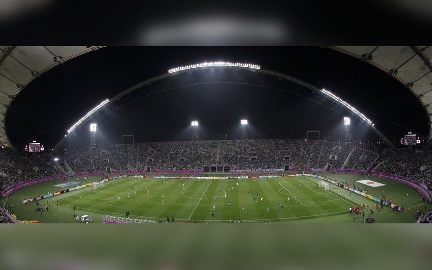 """Kataro sostinėje Dohoje esantis """"Khalifa"""" stadionas"""