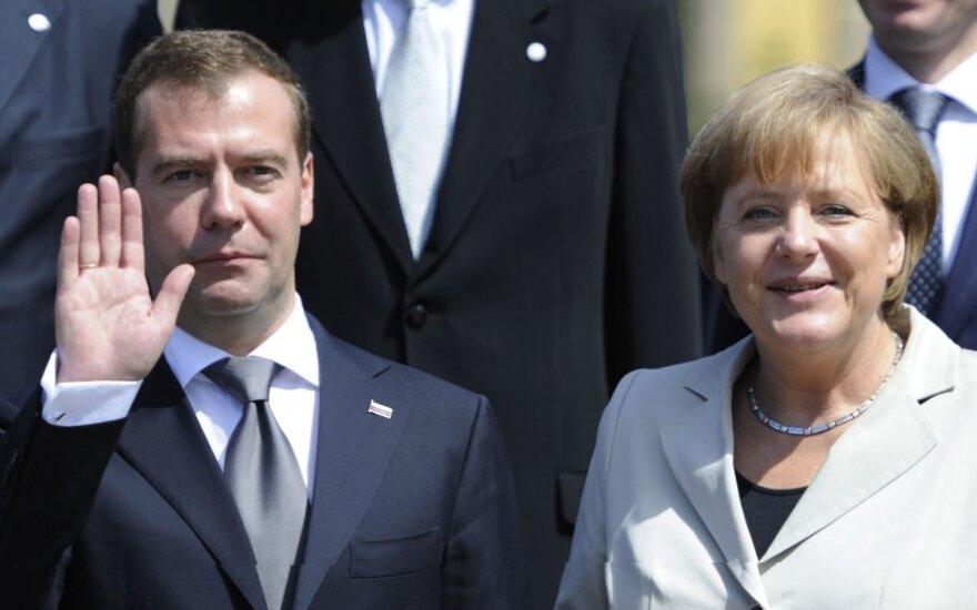 Медведев в Германии намекнул о своем политическом будущем