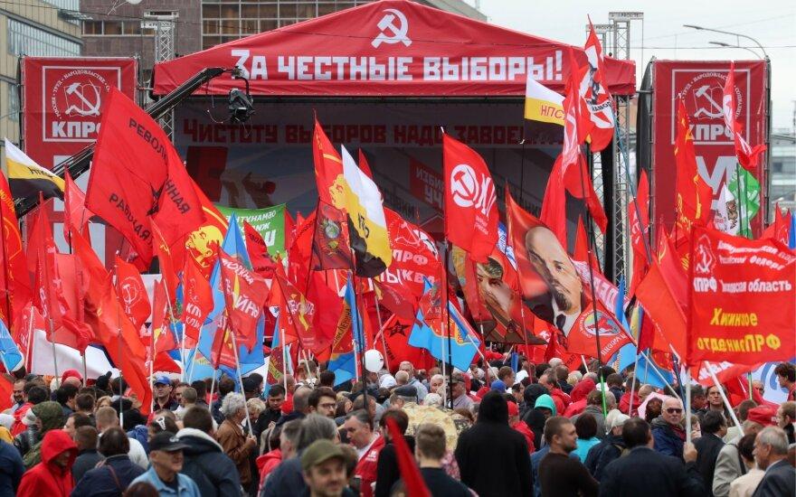 Protestai Maskvoje