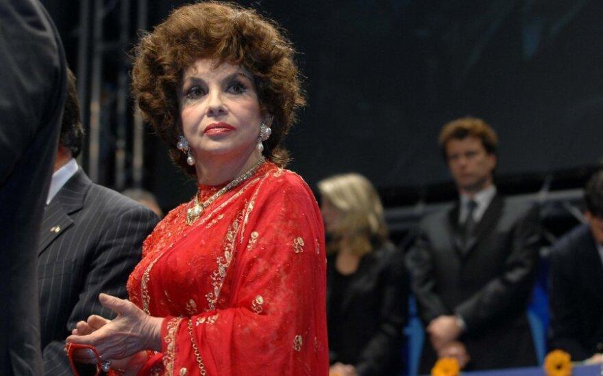 Gina Lollobrigida ir Javieras Rigau