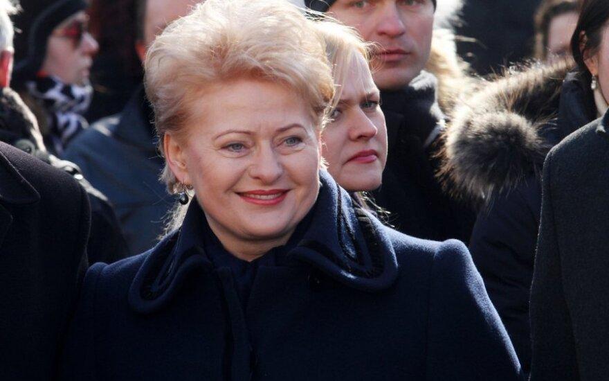 Prezidentė Dalia Grybauskaitė Kaune priėmė generolo Povilo Plechavičiaus mokyklos karių priesaikas