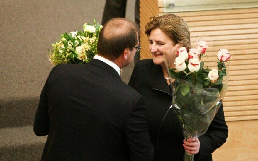 Viktoras Uspaskichas, Loreta Graužinienė