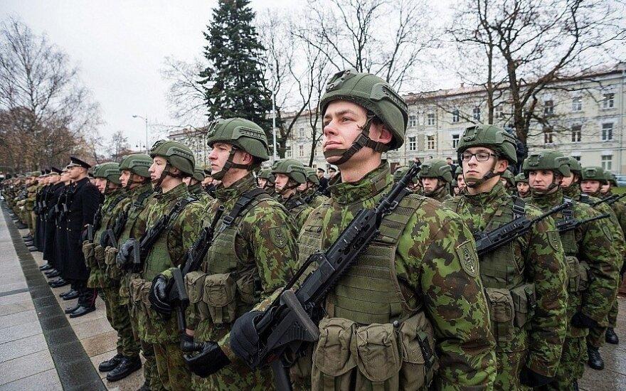 Правительство Литвы утвердило планы увеличения численности Вооруженных сил