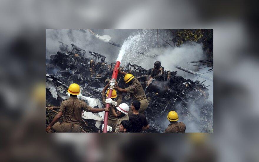 Lėktuvo avarija Indijoje