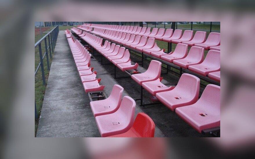 Выяснилось, кто нанес ущерб игналинскому стадиону