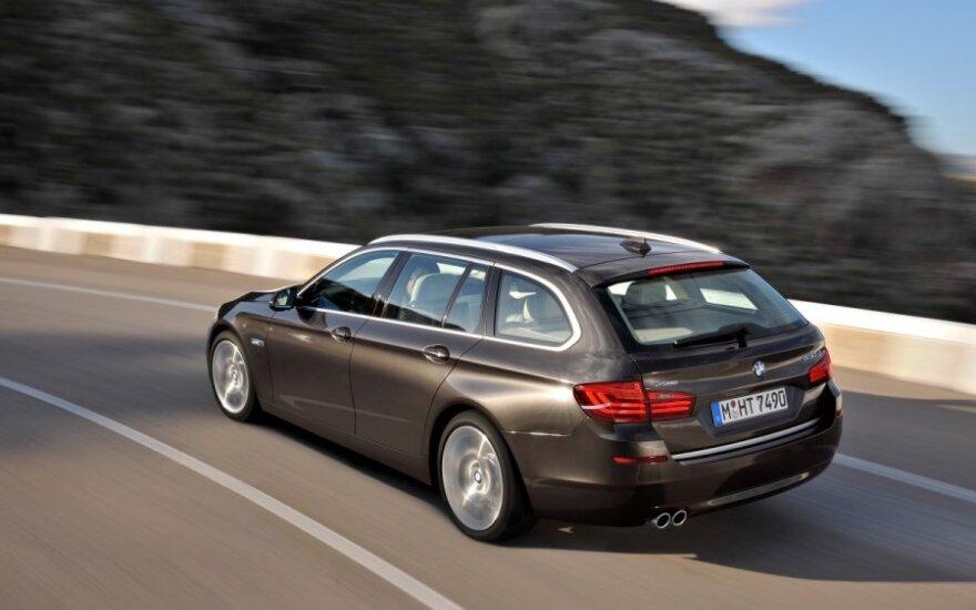 """Обновленную """"пятерку"""" BMW представили официально"""