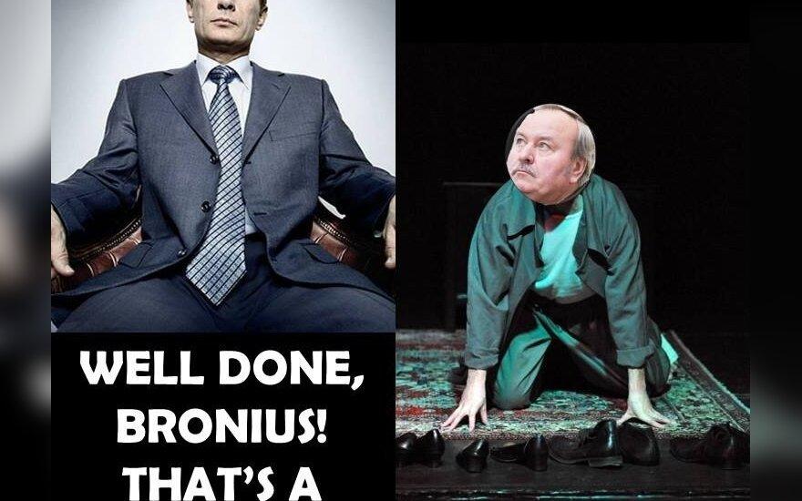 Vladimiras Putinas, Bronius Bradauskas