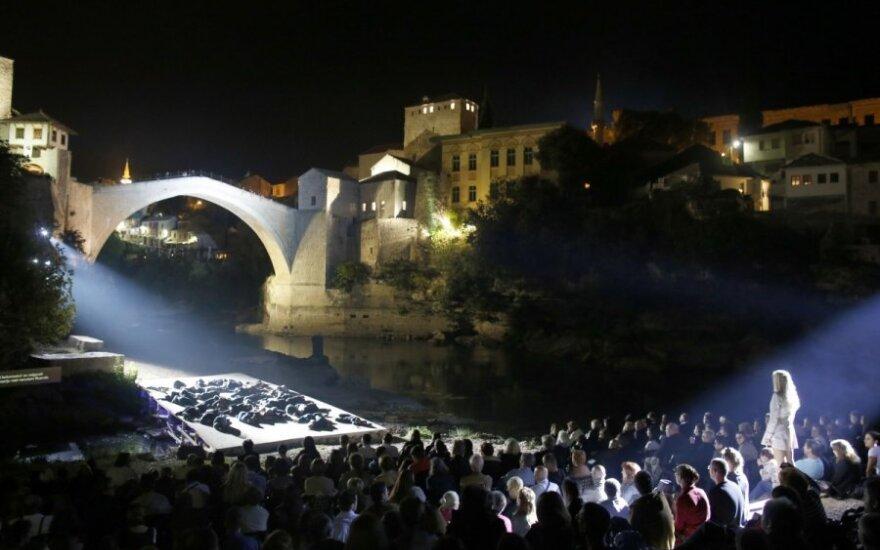 20 лет назад был взорван Старый мост в Мостаре