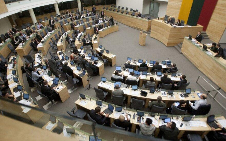 Досрочные выборы Сейма Литвы предлагают проводить 3 июня