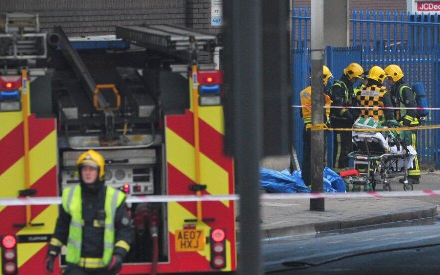 Опознаны жертвы крушения вертолета в Лондоне