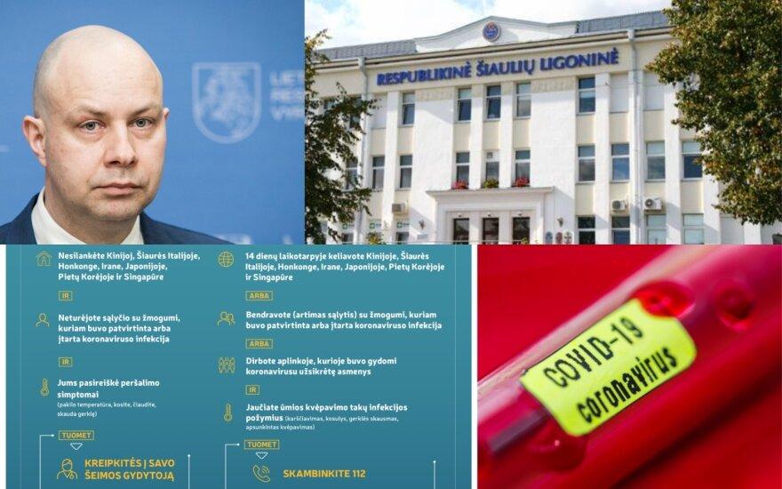 Коронавирус добрался до Литвы: в Шяуляйской больнице изолирована вернувшаяся из Северной Италии женщина