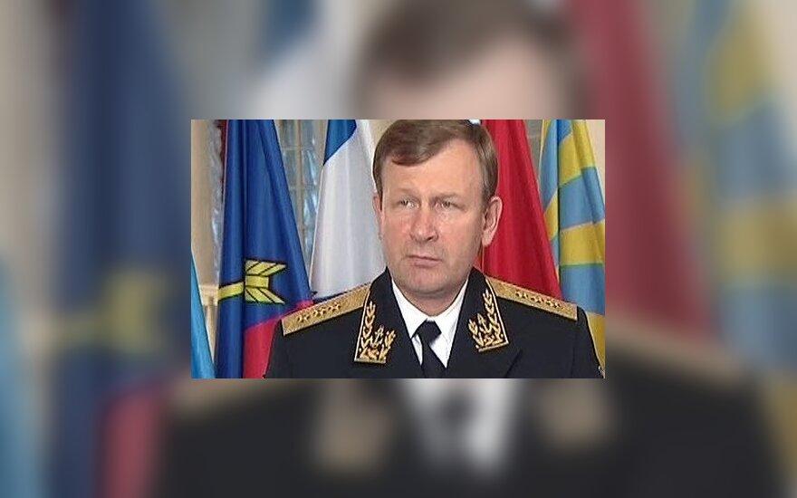 Главком ВМФ России Виктор Чирков подал в отставку