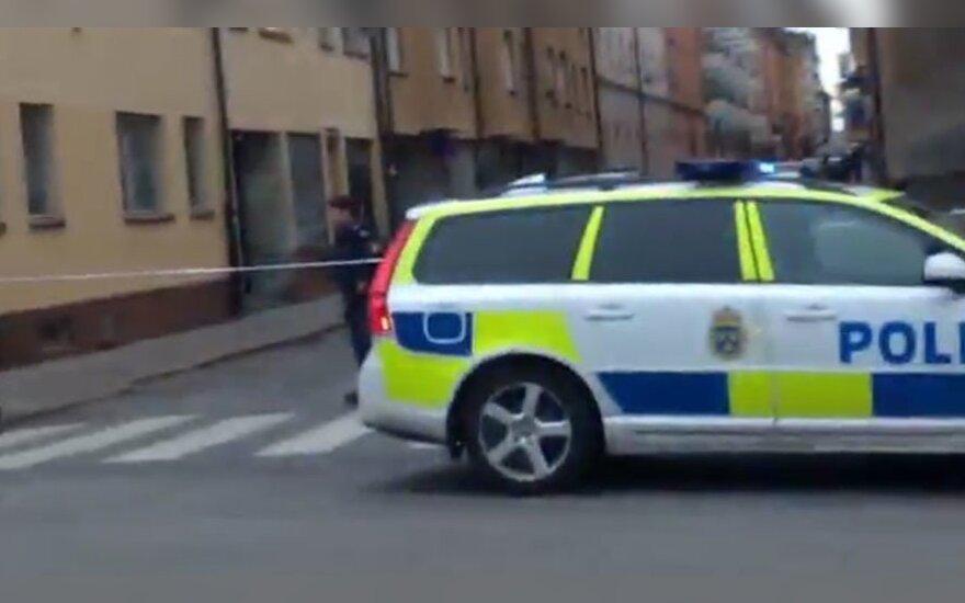 В центре Стокгольма прогремел взрыв