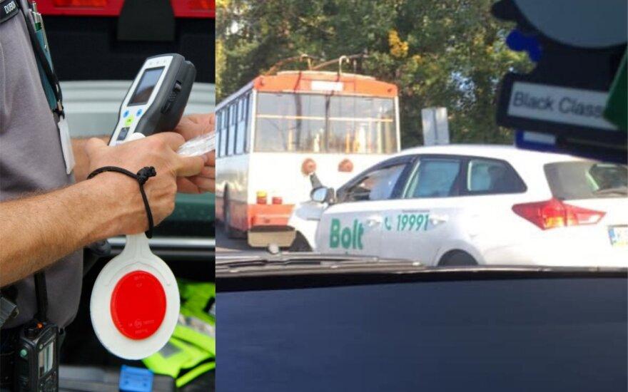 В Вильнюсе ДТП совершил нетрезвый поставщик услуги подвоза