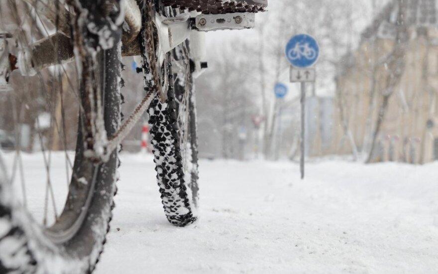 Dviratis žiemą