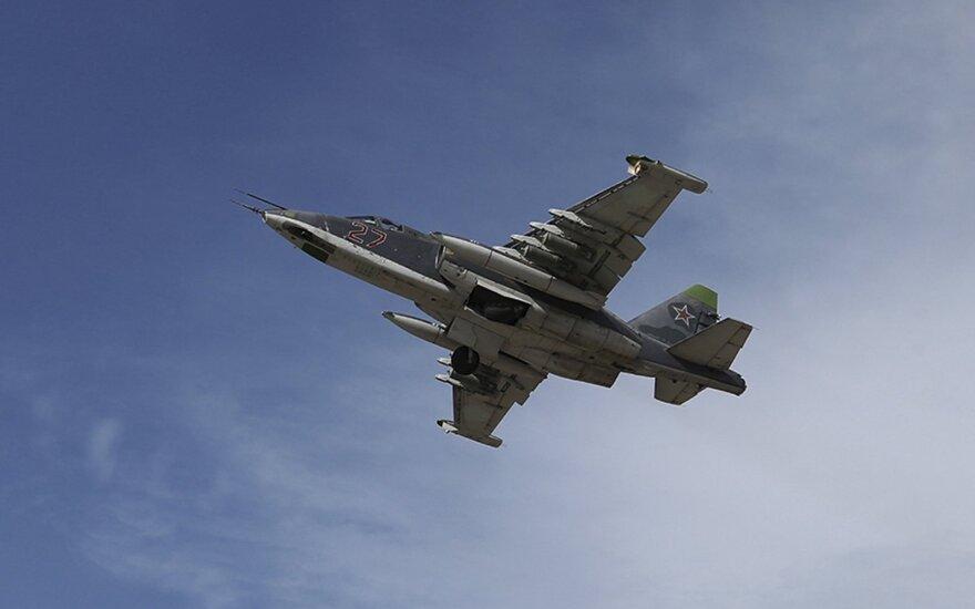 Российские военные начали применять в Сирии мощные бомбы КАБ-1500