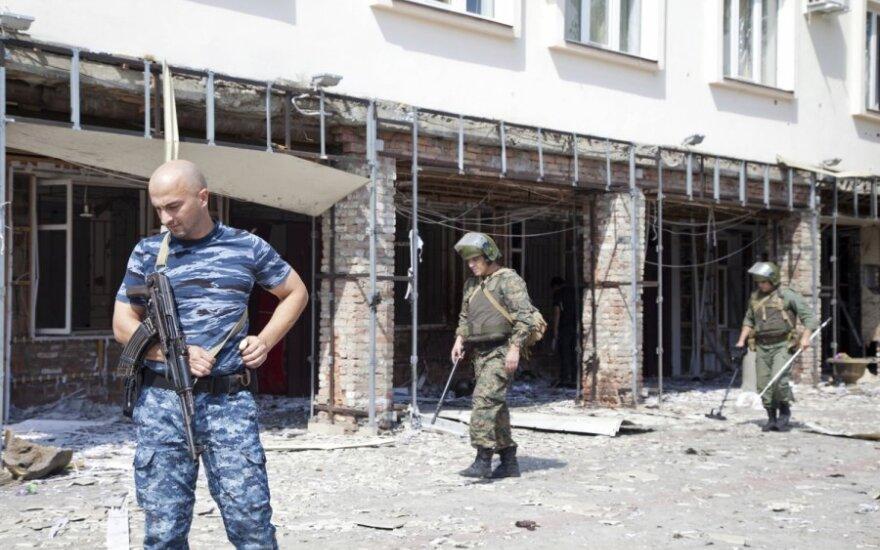 Čečėnijoje susisprogdino trys mirtininkai: žuvo 9 žmonės