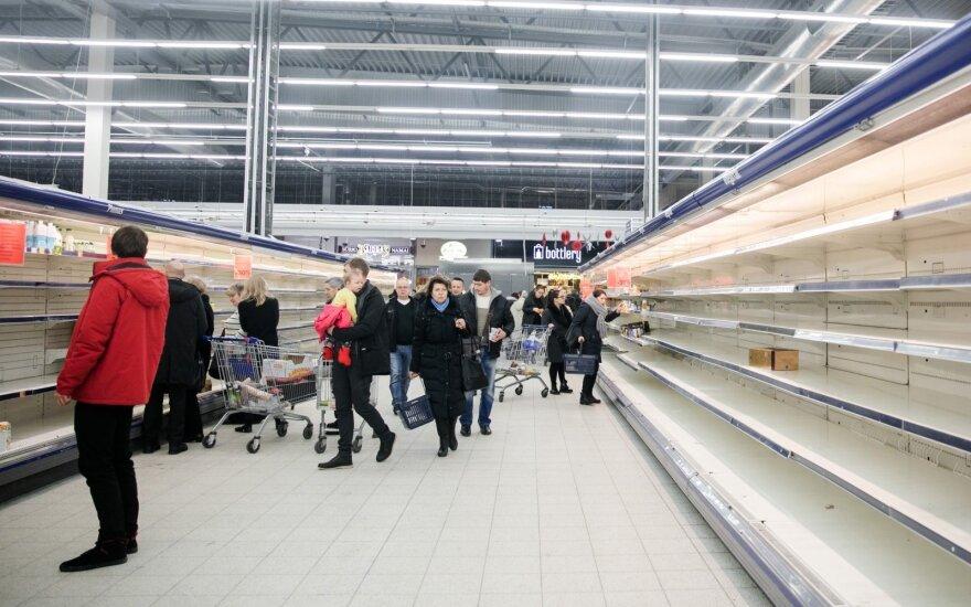 Покупатели штурмуют закрывающийся на реконструкцию магазин Maximа