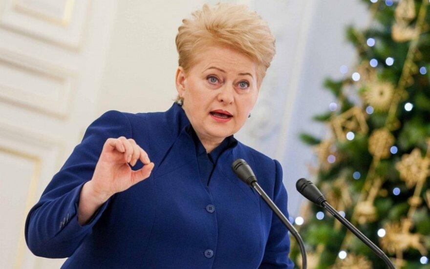 Dalia Grybauskaitė: Ustawa o mniejszościach narodowych złamie Konstytucję