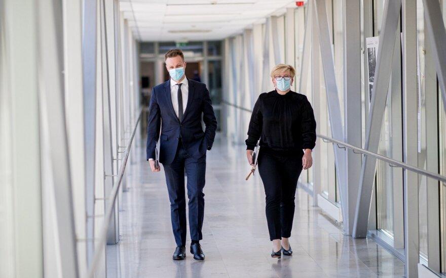 Gabrielius Landsbergis, Ingrida Šimonytė
