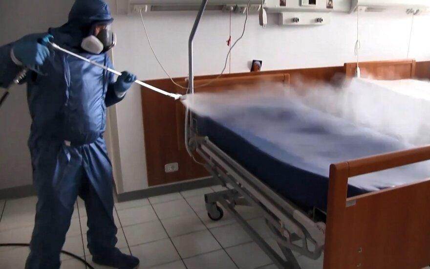 Koronavirusas siaučia Italijoje