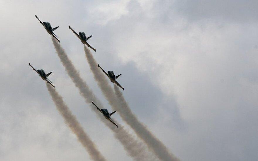 На Днях авиации в Тарту россияне показали высший пилотаж