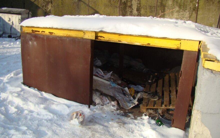 В Шяуляй бездомные даже в морозы не идут в ночлежный дом