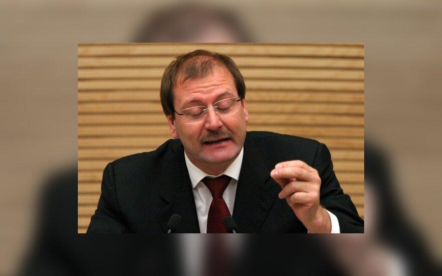 В.Успасских спешит отказаться от мандата члена Сейма