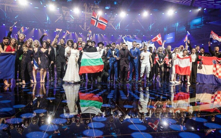 """""""Eurovizijos"""" antrojo pusfinalio nugalėtojai"""